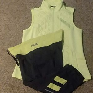 Fila athletic outfit